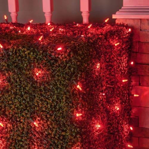 Wintergreen Lighting 72502 100 Bulb 4Ft x 6 Ft LED Decorative Holiday Net Light