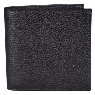 Gucci Men's 150413 1067 Black Leather Coin Pocket Logo Bifold Wallet|https://ak1.ostkcdn.com/images/products/is/images/direct/4477cf65315a772d39c263bf837c65670a7e1812/Gucci-Men%27s-150413-1067-Black-Leather-Coin-Pocket-Logo-Bifold-Wallet.jpg?impolicy=medium