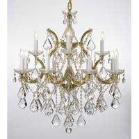 Swarovski Elements Crystal Trimmed Theresa Crystal Chandelier Lighting H30 x W28