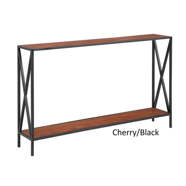 Carbon Loft Ehrlich Cross Design Console Table. Opens flyout.