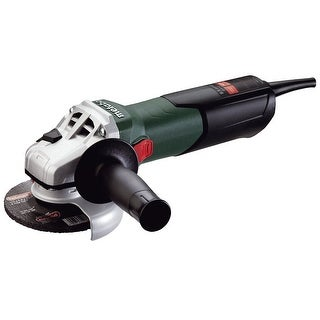 """Metabo W9-115 Angle Grinder with Lock-On Sliding Switch, 4.5"""", 10500 RPM"""