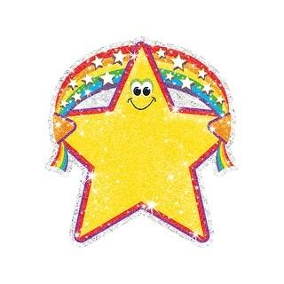 Sparkle Accents Rainbow Star 24/Pk