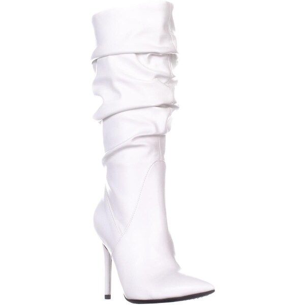 Jessica Simpson Lyndy 2 Knee High Boots, Off White - 5.5 US / 36 EU
