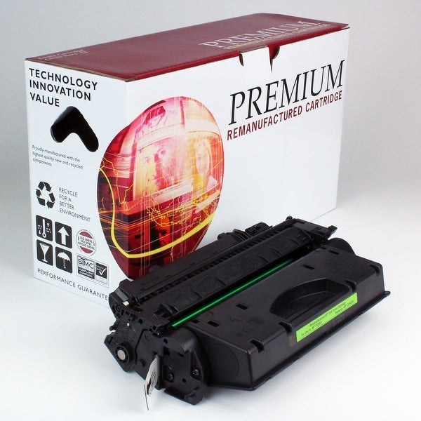 Re Premium Brand replacement for HP 05X CE505X Toner (6,500 Yield)