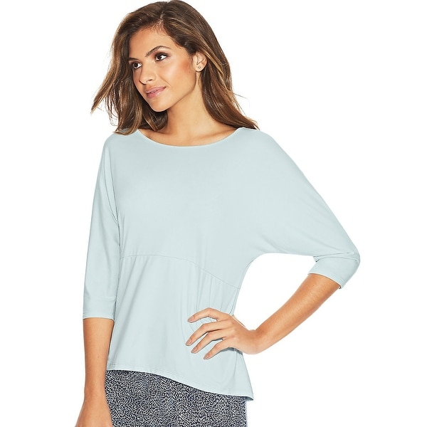 Maidenform Dolman Sleeve Lounge Top - Color - Winter Sky - Size - S