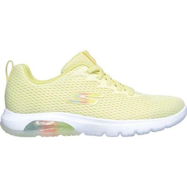 skechers goga mat running shoes yellow