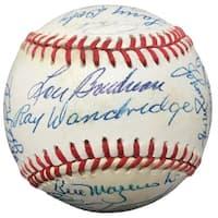 23 Baseball Hall Of Famers and Greats Signed National League Baseball PSA V13691