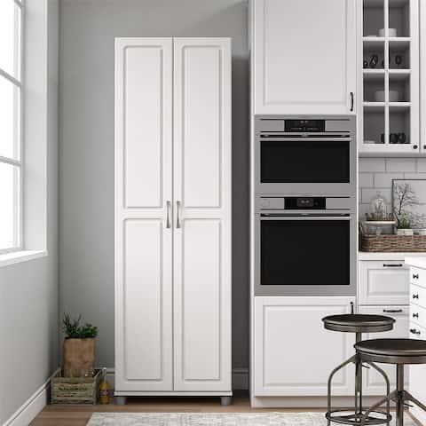 Avenue Greene Baldwin 24-inch White Storage Cabinet