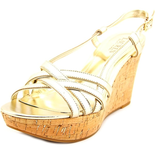 Lauren Ralph Lauren Quaylin Women Platino Sandals
