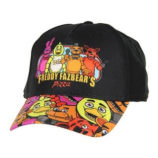 Five Nights at Freddy's Youth Freddy Printed Brim Snapback Hat