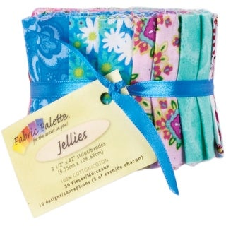 "Punch of Paisley Jellies 2.5""X42"" 20/Pkg-Punch of Paisley"