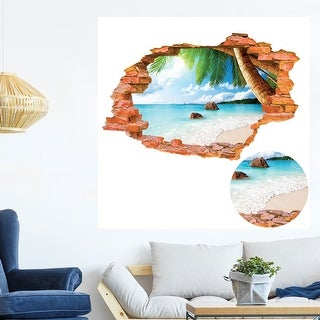 "Living Room Removable Peel Stick DIY Murals Decor Wall Art Sticker Decal 35.4""x23.6"""