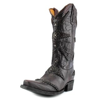 """Old Gringo Arcangel 13"""" Square Toe Leather Western Boot"""