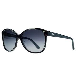Lacoste L701/S 466 Petrol Havana Wayfarer Sunglasses - petrol havana - 56-14-135