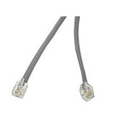 Cables To Go 08133 25 Feet Modular Phone Cable - 1 x RJ-12 - (Refurbished)