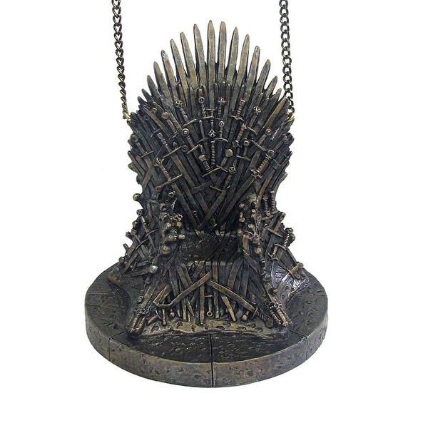 "Game of Thrones 4.25"" Resin Throne Holiday Ornament"