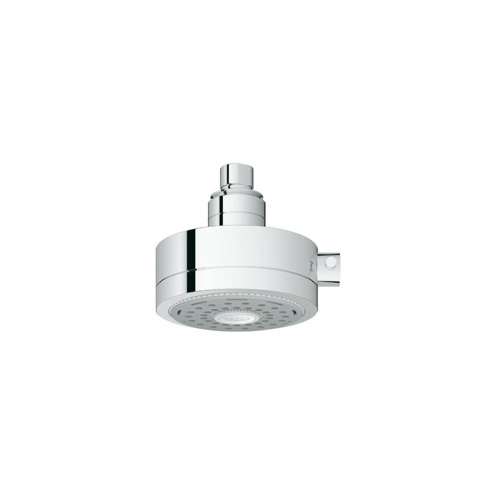 Grohe 27 530 Relexa Deluxe 5 Shower Head With Champagne Spray And Starlight Chrome Overstock 16336973