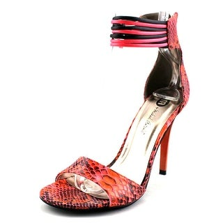 Michael Antonio Chelsi Open-Toe Synthetic Heels