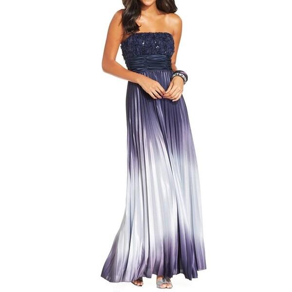 6de2892c370 Shop Speechless Womens Juniors Evening Dress Ombre Prom - Free ...