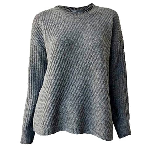 Vince Side Slit Crew Neck Sweater XS