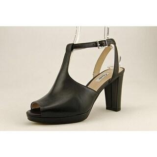Clarks Kendra Charm Women  Open Toe Leather Black Sandals