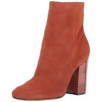 eeaa3f08c Shop BCBGeneration Womens Joesana Leather Almond Toe Ankle Fashion ...
