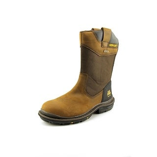 Caterpillar Grist WP ST Men W Steel Toe Leather Brown Work Boot