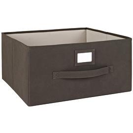 Closetmaid 25069 Deep Fabric Drawer, Brown