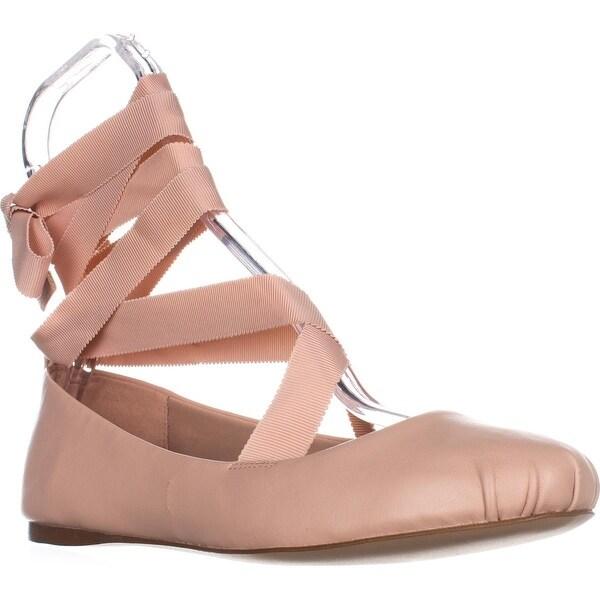 1b91e54cff1d Shop BCBGeneration Talia Lace Up Ballet Flats