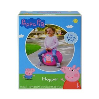 Peppa Pig Inflatable Hopper