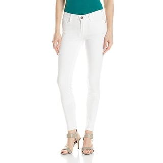 Buffalo NEW White Denim Women's Size 26 Faith Mid Rise Skinny Jean