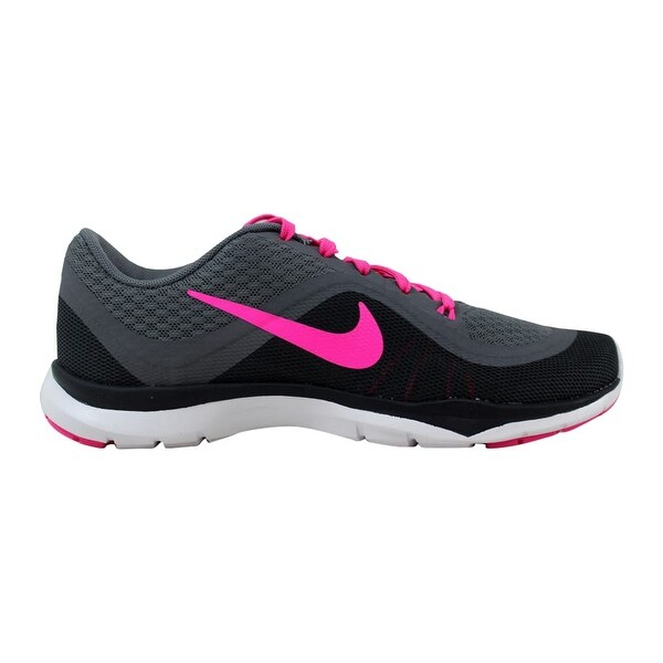5184cc190 Shop Nike Flex Trainer 6 Cool Grey Pink Blast-Dark Grey-Anthracite ...