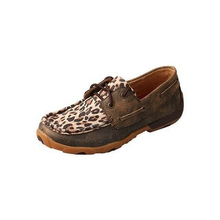 Twisted X Casual Shoes Womens Rubber Distressed Cheetah - Distressed Leopard