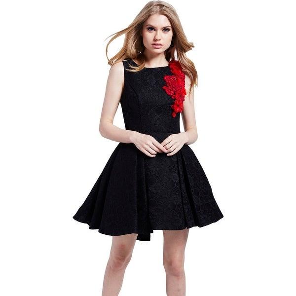 430561318eade Jovani Lace Embellished Semi-Formal Dress