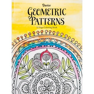 Darice Coloring Book-Geometric Patterns