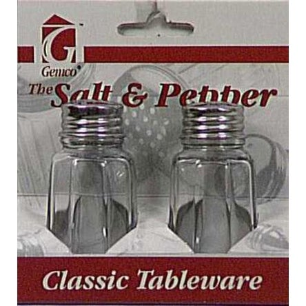 Lifetime 5078608 Salt & Pepper Set, 1 Oz, Clear Glass. Opens flyout.