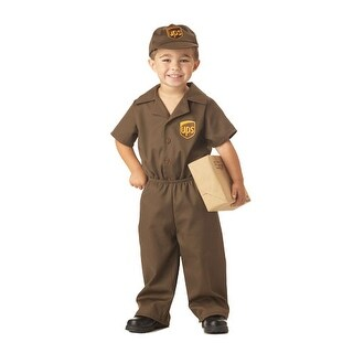 UPS Guy Toddler Kids Halloween Costume