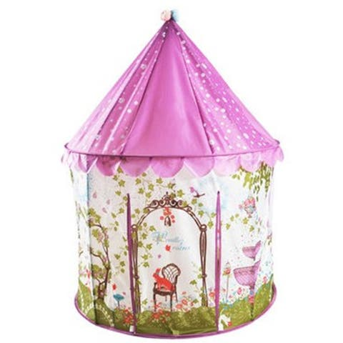 Free shipping! Cute Japan puzzle game ball tent for children thick bottomed spice teepee tent - Purple - s