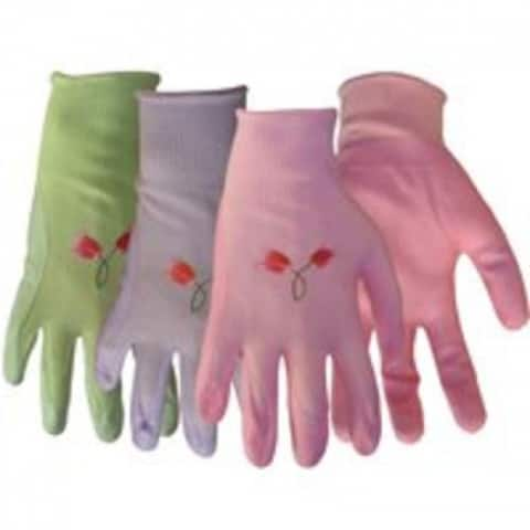 Boss 8429L Large Nylon Knit with Nitrile Gloves, Assorted Colors