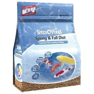 Tetra Pond TP16481 Tetra 16481 Spring and Fall Diet Wheatgerm Fish Food 1.72-Pound box