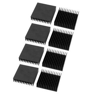 8 Pcs 40 x 40 x 11mm High Quality Aluminum Heat Sink for PC Computer CPU