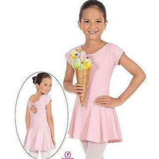 Eurotard Girls Bow Back Leotard With Skirt