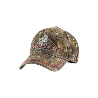 Legendary Whitetails Men's Realtree Woodland Warrior Cap - realtree xtra