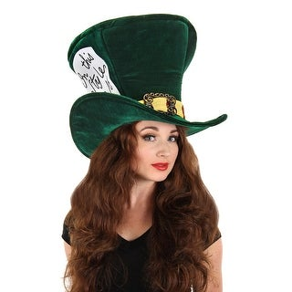Alice in Wonderland Madhatter Hat Adult Costume Accessory One Size