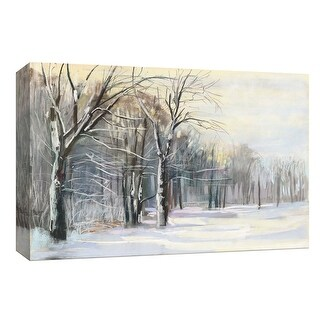 "PTM Images 9-153737  PTM Canvas Collection 8"" x 10"" - ""Winter in the Park"" Giclee Forests Art Print on Canvas"