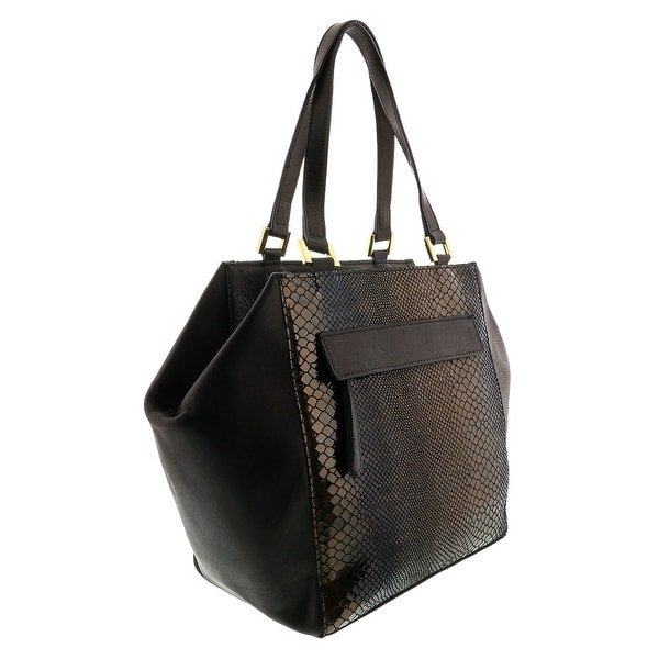 HS5162 NR DORYA Leather Shopper/Tote Bag - 11-11-7