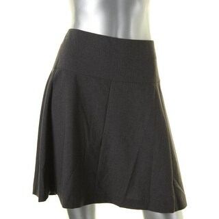 Kensie Womens A-Line Skirt Skater Solid