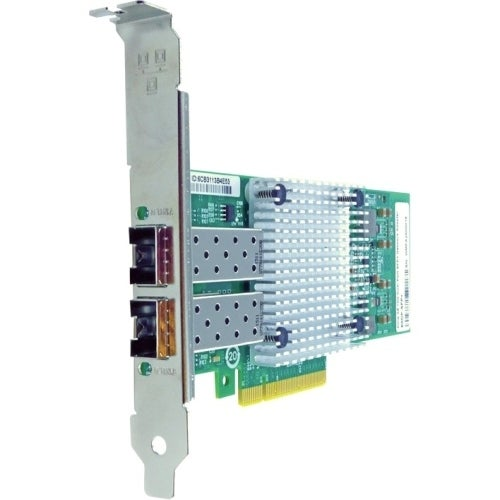 Axiom PCIe 10Gbs Dual Port Fiber Network Adapter for Intel Empty Feature Sequence