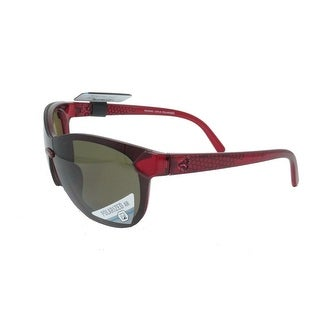 Ryders Eyewear Catja Red Crystal with Polarized Brown Lens Sunglasses