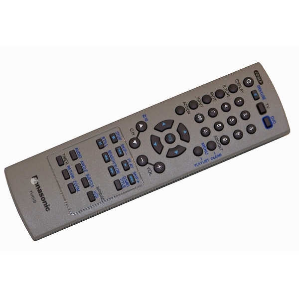 OEM Panasonic Remote Control Originally Shipped With: PV27DF25, PV-27DF25, PV27DF64, PV-27DF64, PV27DF64A, PV-27DF64A